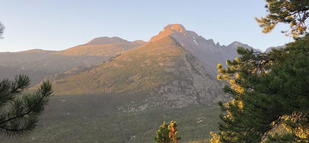 Longs Peak Colorado