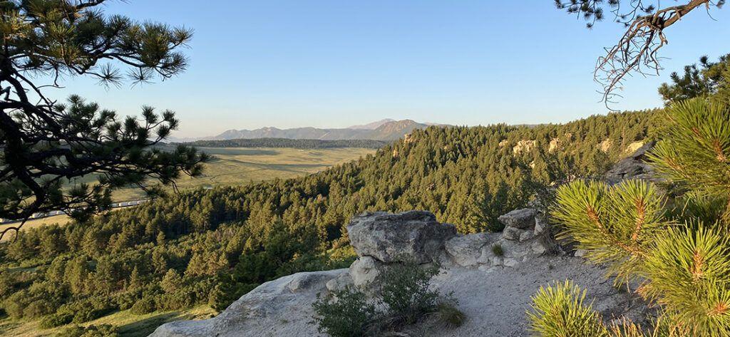 Spruce Mountain, Larkspur, CO