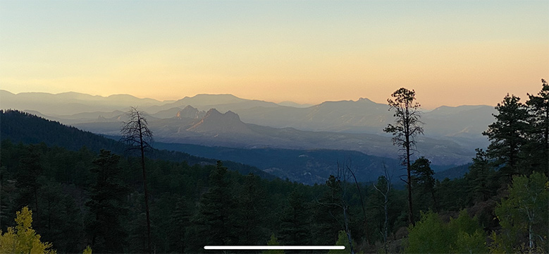 PIkes National Forest Colorado