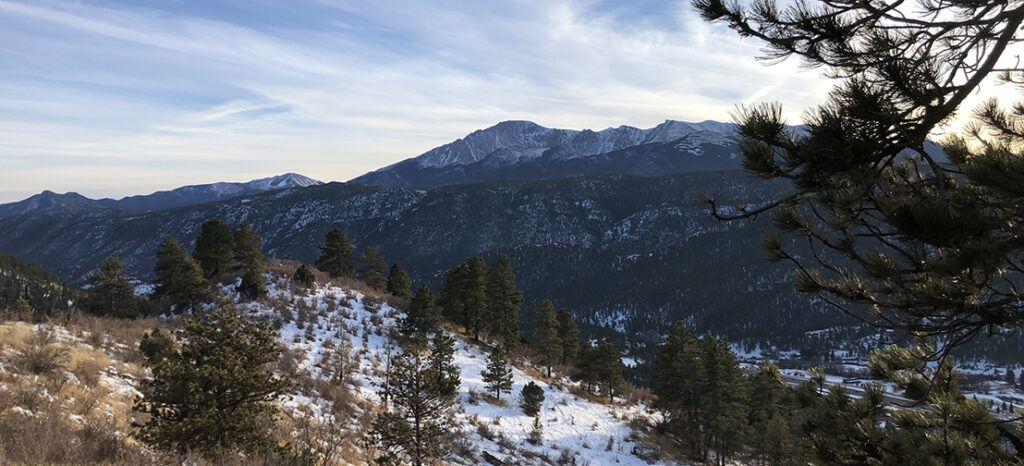 Bald Mountain Loop, Crystola, CO