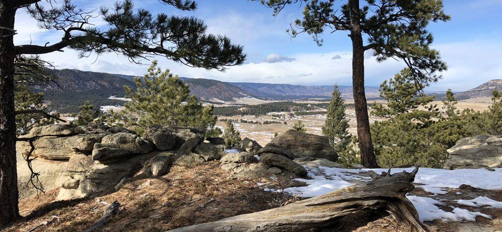 Spruce Mountain Trail Colorado