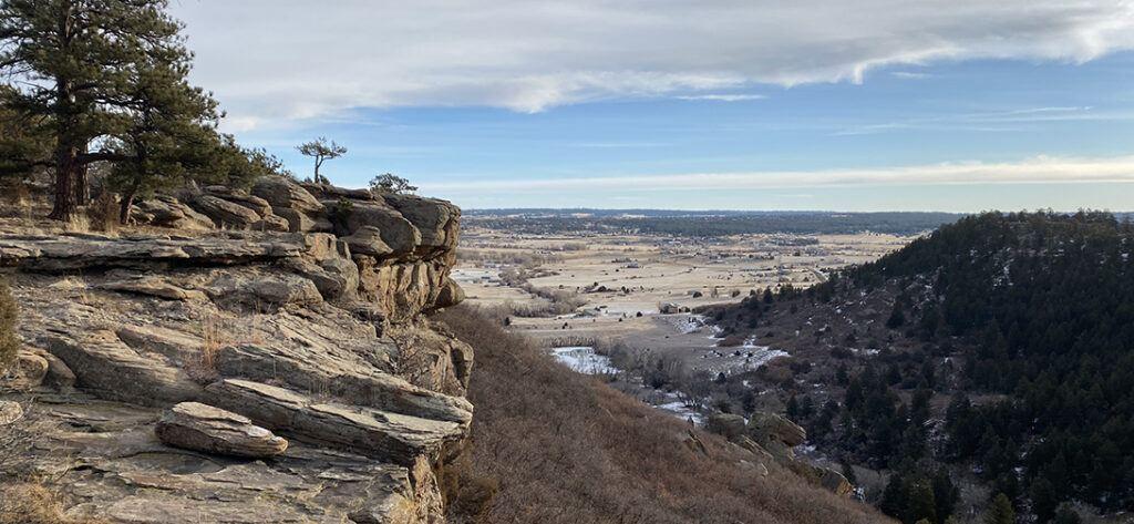 Mitchell Creek Canyon Trail, Colorado