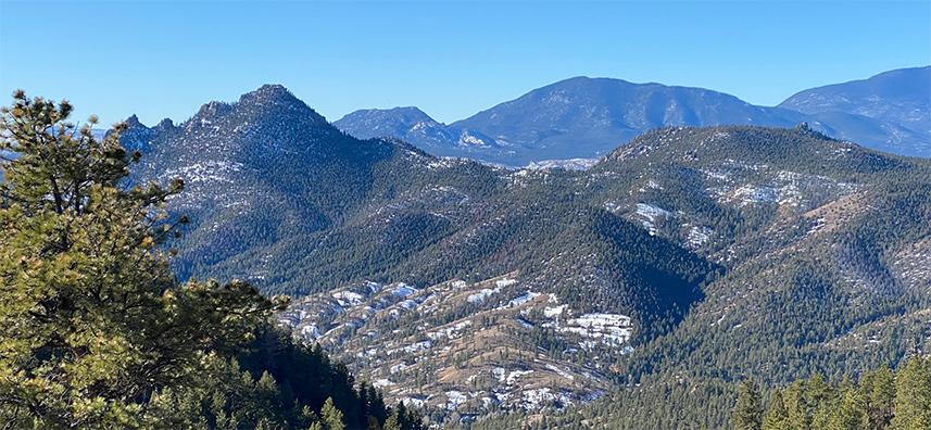 Eagles View Trail Colorado