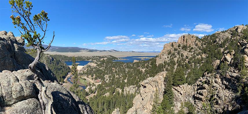 Eleven Mile Canyon, Lake George, Colorado