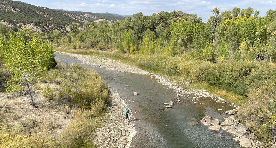 Piedra River Navajo State Park Colorado