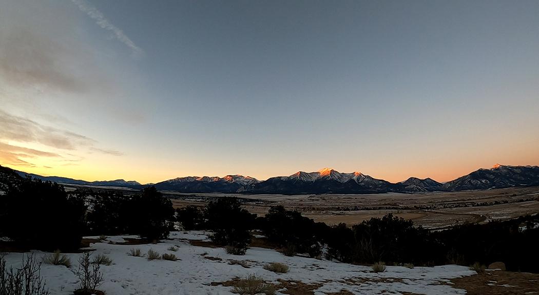 Sunrise Buena Vista Colorado