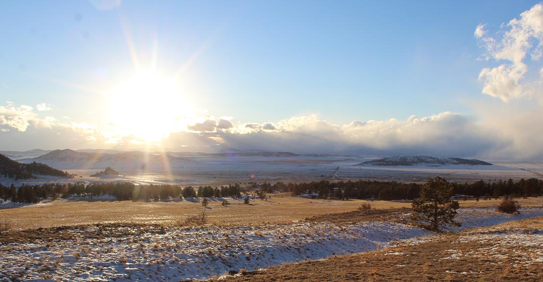 Sunset Wilkerson Pass Colorado