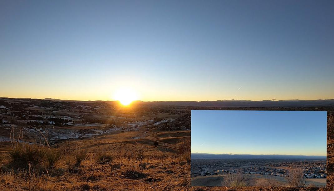 Sunset Lone Tree Colorado