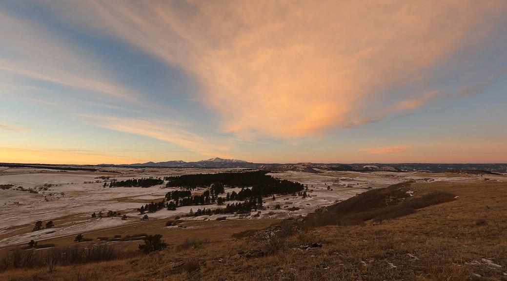 Sunrise Pikes Peak